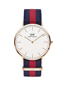 daniel-wellington-daniel-wellington-oxford-white-and-rose-gold-detail-40mm-dial-red-and-blue-stripe-nato-strap-watch
