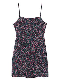 mango-teen-girls-strappy-floral-dress-black