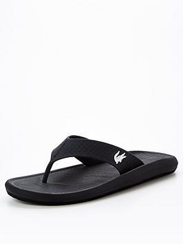 lacoste-croco-flip-flops-blacknbsp