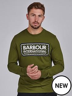 barbour-international-grid-logo-long-sleeved-t-shirt-vintage-greennbsp