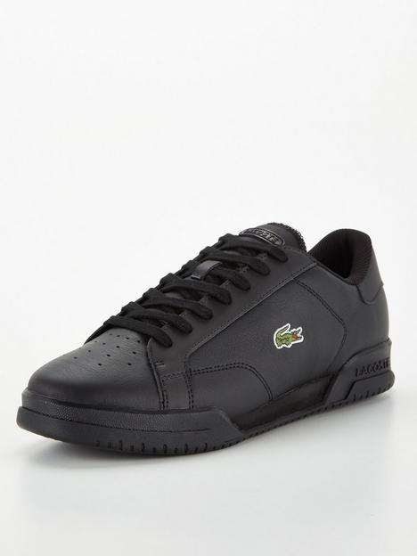 lacoste-twin-serve-leather-trainers-black