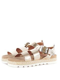 barbour-leathernbspgabbie-sandal-gold