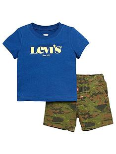 levis-baby-boys-camo-shorts-and-t-shirt-set-blue