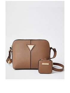river-island-medium-double-compartment-crossbody-bag-with-pouch-beige