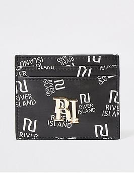 river-island-ri-print-cardholder-black