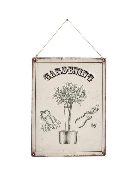 la-hacienda-gardening-garden-wall-sign