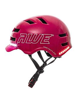 awe-awe-e-bikescooterbicycle-junioradult-helmet-55-58cm-pink-ce