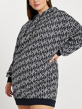 ri-plus-ri-print-sweat-dress