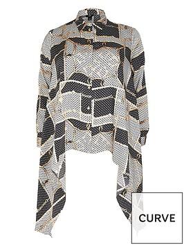 ri-plus-ri-plus-scarf-print-asymmetric-satin-shirt-silver