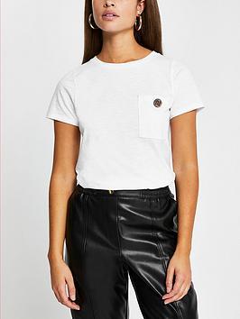 river-island-button-chest-pocket-t-shirt-white