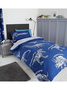 catherine-lansfield-dinobot-single-duvet-cover-set
