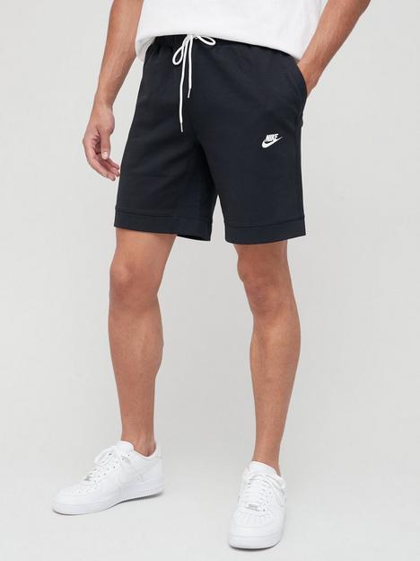 nike-modern-fleece-shorts-blue