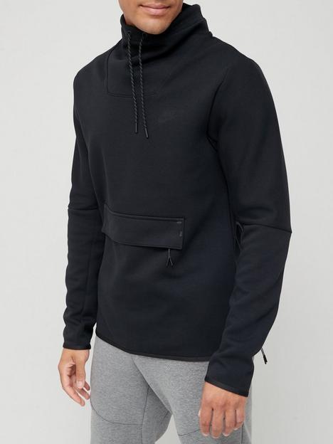 nike-tech-fleece-crew-sweat-top-black