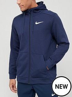 nike-training-dry-full-zip-hoodie-navy