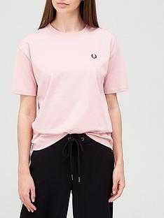 fred-perry-crew-neck-t-shirtnbsp--pink