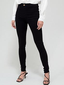 river-island-tall-high-waist-kaia-jegging-black