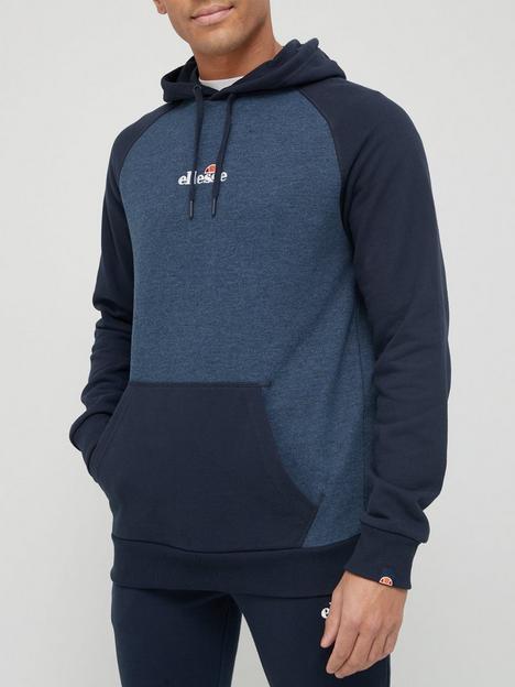 ellesse-socity-overhead-hoodie-navy-marl