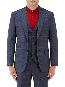 skopes-woolf-tailored-jacket-navy-checknbsp