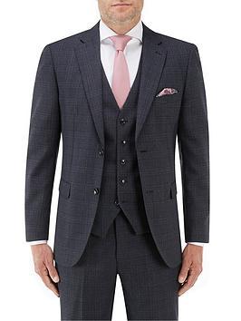 skopes-momoa-tailored-jacket-navy-checknbsp