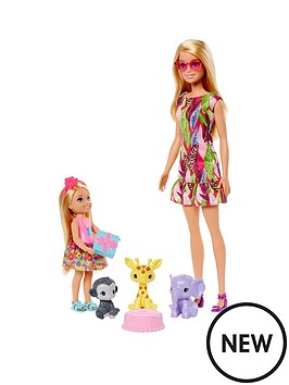barbie-barbienbspand-chelseanbspthe-lost-birthday-playset-with-barbienbspamp-chelsea-dolls-3-pets-amp-accessories