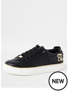 river-island-girls-lace-up-chunky-trainersnbsp-nbspblack