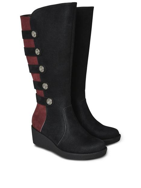 joe-browns-after-dark-wedge-boots-blacknbsp