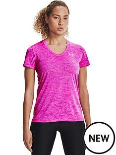 under-armour-tech-twist-t-shirtnbsp--pinksilver
