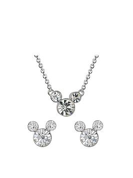 disney-disney-mickey-mouse-birthstone-kids-necklace-and-earrings-gift-set