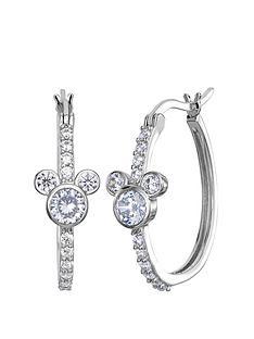 disney-disney-mickey-mouse-sterling-silver-crystal-hoop-earrings