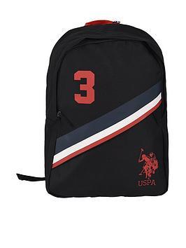 us-polo-assn-boys-no3-backpack-black