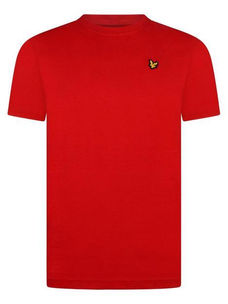 lyle-scott-boys-classic-short-sleeve-t-shirt-red