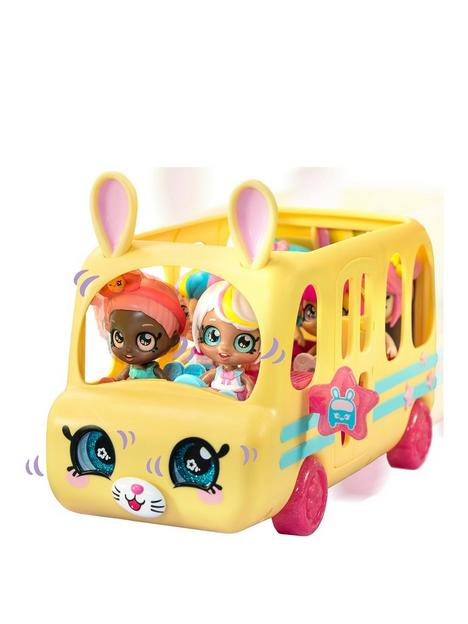 kindi-kids-kindi-kids-minis-collectable-school-bus-and-posable-bobble-head-figurine