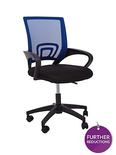 premier-housewares-maurice-office-chair--blue