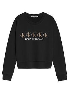 calvin-klein-jeans-girls-repeat-foil-sweatshirt-black