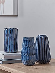 cox-cox-set-of-3-textured-blue-vases