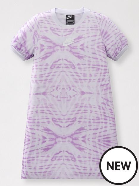 nike-girls-nsw-all-over-printnbspshort-sleeve-dress-purple