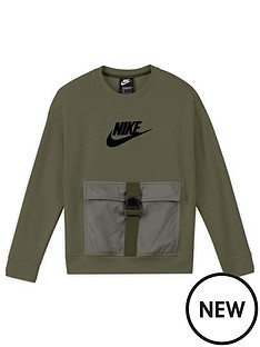 nike-boys-nsw-rtl-utility-fleece-top