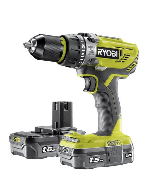 ryobi-r18pd31-215s-18v-one-cordless-compact-combi-drill-starter-kit-2-x-15ah