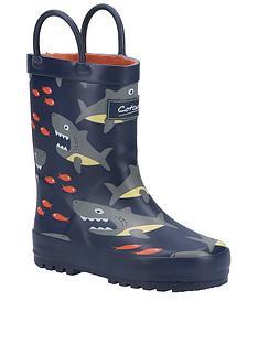 cotswold-shark-wellington-boot-navy