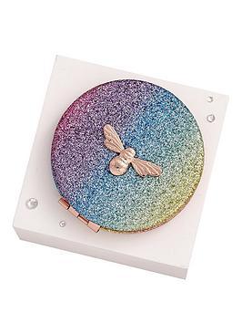 olivia-burton-rainbow-glitter-compact-mirror