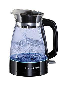 russell-hobbs-hourglass-black-glass-kettle-26080