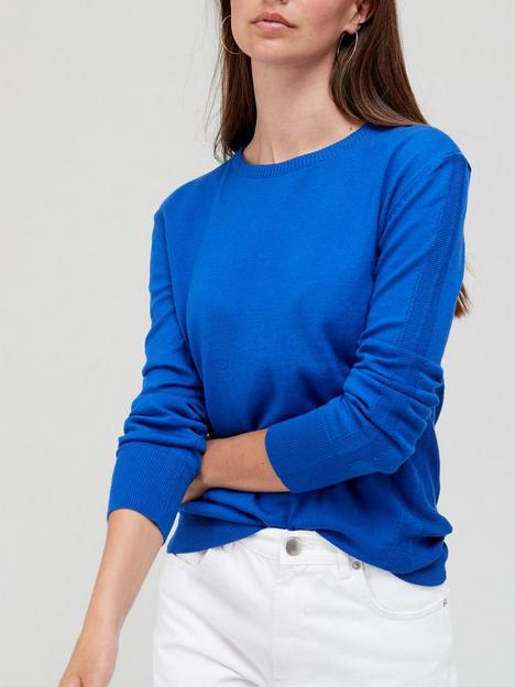 v-by-very-knitted-crew-neck-top-bluenbsp