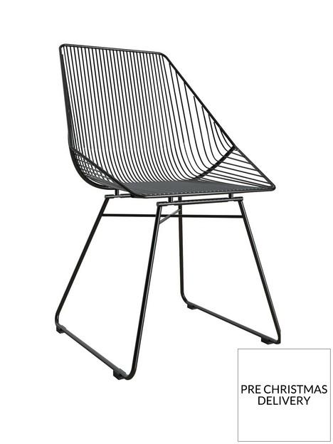 cosmoliving-by-cosmopolitan-ellis-accentdining-chair--black
