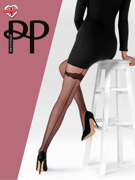 pretty-polly-pretty-polly-backseam-tights-patterned-body-blacknbsp