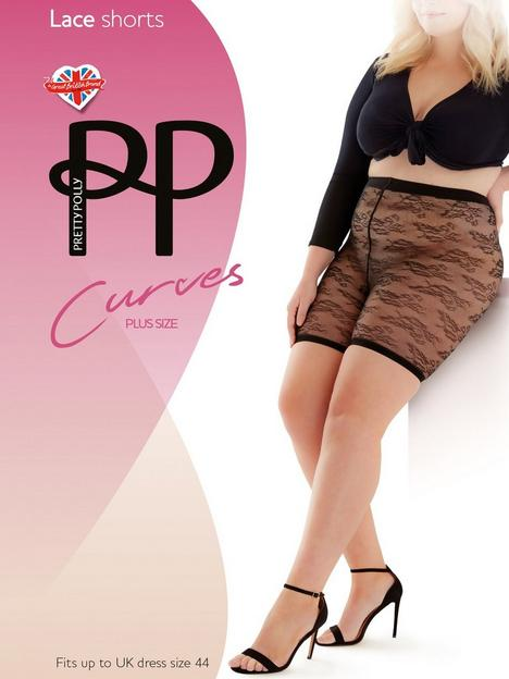 pretty-polly-curves-lace-shorts