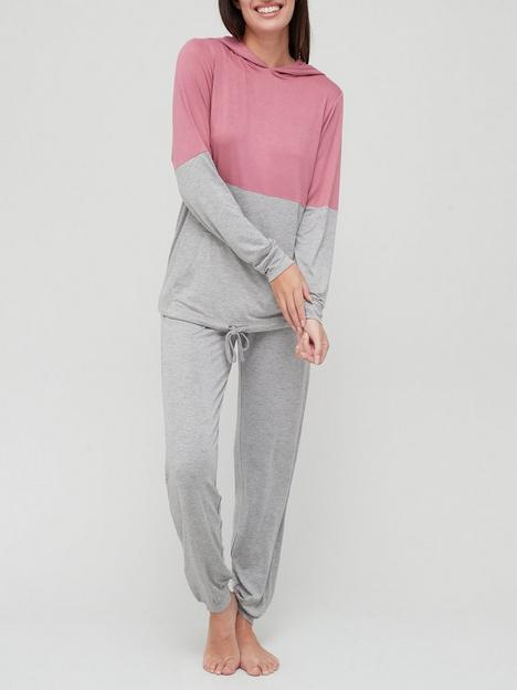 v-by-very-two-tone-hoodie-and-jogger-lounge-pyjamas-grey-marl