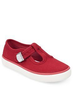 start-rite-treasure-t-bar-canvas-shoe-red
