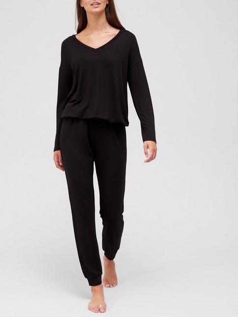 v-by-very-value-v-jumper-and-jogger-lounge-set-black