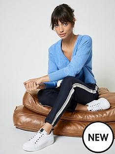 mint-velvet-side-stripe-trouser-ink