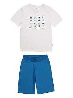 boss-boys-logo-t-shirt-and-bermuda-shorts-whiteblue